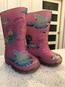 Toddler rain boots (size 5)