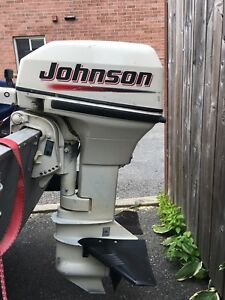 Johnson 15 hp outboard