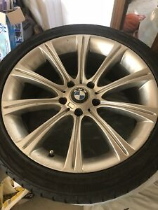 18 inch BMW TIRES WITH EXTRA RIM