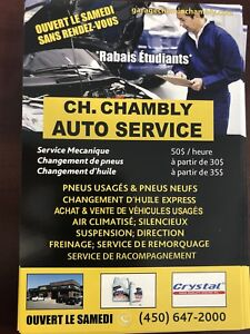 Cherche employe pour juste changement de pneus au garage