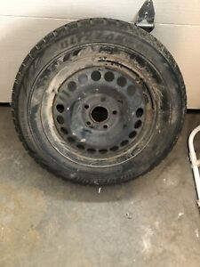 4 Blizzard WS70 with rims for 2015 Malibu (225/60/R16)