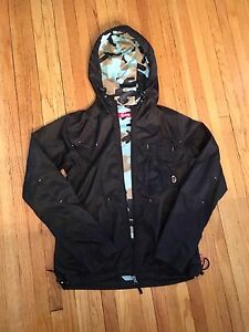 Women's black Orb windbreaker jacket, S/M. $20 OBO