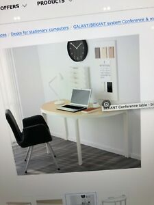 Bekant conference table conference bureau small office