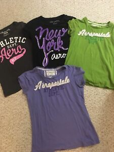 Size M, Women's tees, used but good condition