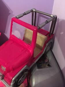 18 inch doll jeep
