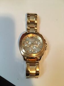 Gold coach watch men