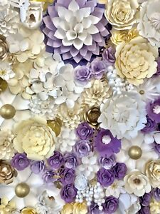 Paper Flower Backdrop Rentals