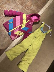 Girls 6T obermeyer ski suit set