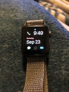 Apple Watch series 3 gps+cell space grey