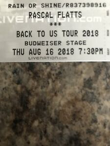 Rascal Flatts, August 16th Budweiser Stage!
