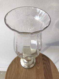 Glass Vase x 9 ($60)