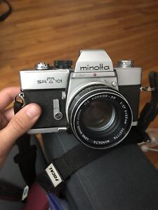Minolta SRT 101 with MC Rokkor-PF 55mm F1.7
