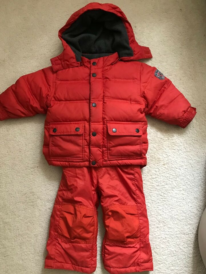 9529a87cc Baby Gap Down Filled Snowsuit 18-24 months