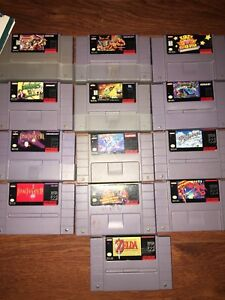 Snes games for sale *Rare*