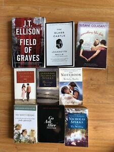 Books to sell/trade (The Glass Castle, Sparks, Picoult and more!
