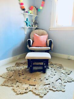 Rocking armchair for nursery