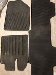 Original winter rubber floor fo Ford Edge 2011