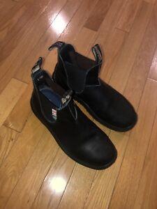 Black Steel Toe Blundstones