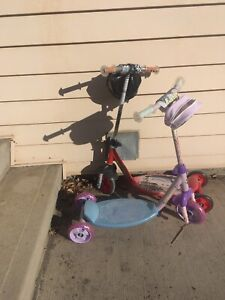 FREE kids scooters