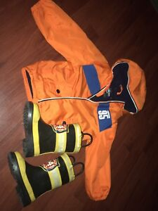 Boys Jacket and Boots