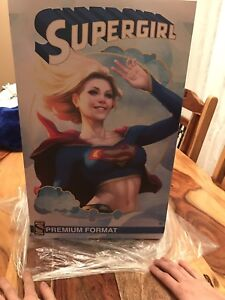 Supergirl pf ex sideshow Collectible statue