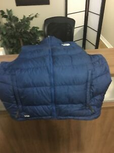 North Face winter vest