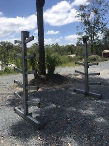 Steel rack galvanised