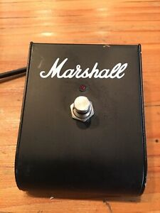 Marshall Single Channel Footswitch