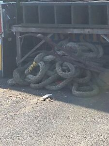 Looking for 80mm mooring rope. St Kilda Port Phillip Preview