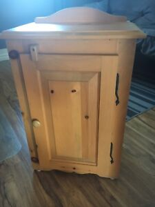 Small wood cabinets