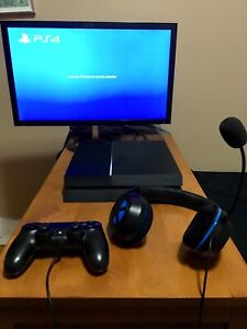 Full PlayStation 4 Gaming Setup