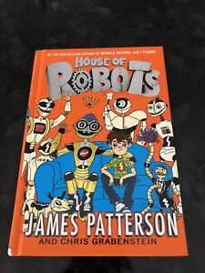Robots pre teen book by James Patterson
