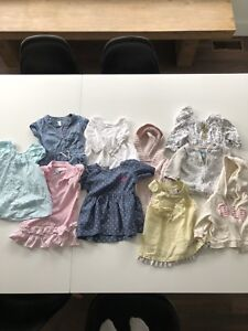 Lot of brand-name baby girls clothing