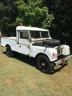Land Rover Series one 1  1957 107 inch Ute pickup