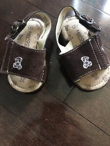 Barefoot Walking Baby Boy Sandals- Size 4