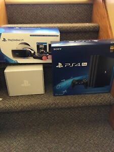 PS4 pro with PRO VR bundle