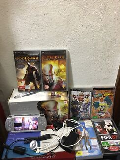 Limited Edition Boxed God Of War PSP Console & Game Bundle