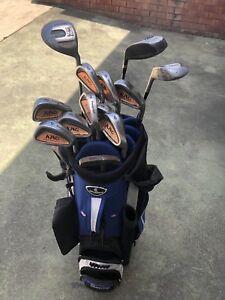 Men's Complete Golf Set Cleveland Bag