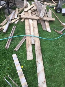 Free wood? Deck boards 2x4 ect