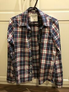 Abercrombie and Fitch plaid shirt in size small