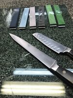 Knife sharpening service - mirror edges