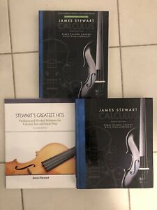 James Stewart Calculus Eight Edition with Texbook Solns and Prep