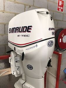 Outboards Evinrude Etec's 90hp motor Narre Warren Casey Area Preview