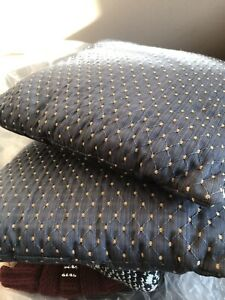 Set of two small toss cushions $5