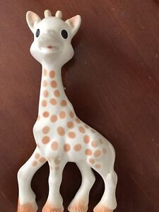 Giraffe teether and toy