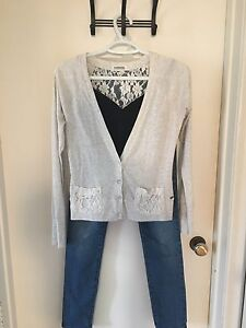 Complete Outfit - Jeans, Tank and Long Sleeve Cardigan