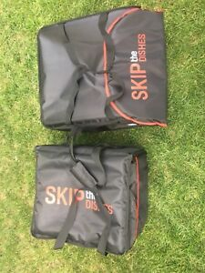 Skip the dishes delivery bags- brand new