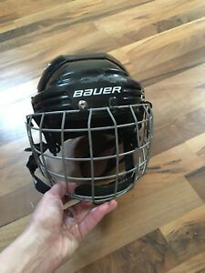 Bauer hockey helmet