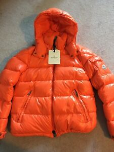 1:1 High End Rep Moncler Maya Orange Size 3 (M)