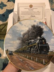 Collector Plates 'Trains'